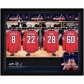 Washington Capitals Customized Locker Room Dark Framed Photo