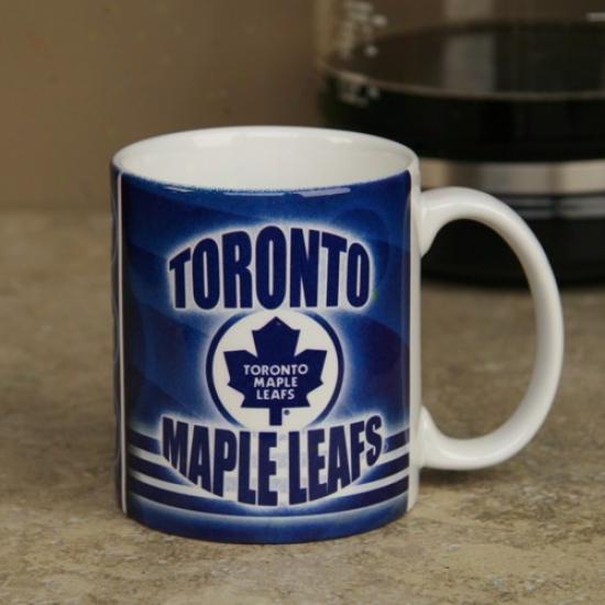 Toronto Maple Leafs 11oz. Slapshot Coffee Mug