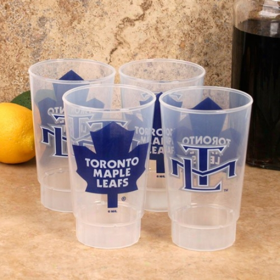 Toronto Maple Leafs 4-pack 16oz. Plastic Cups