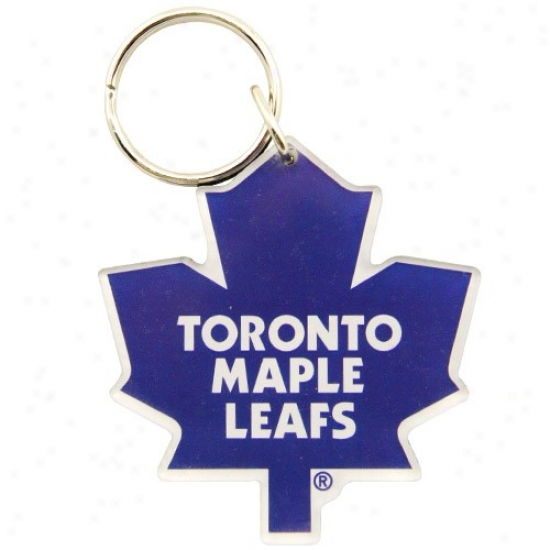 Toronto Male Leafs High Definition Keychain