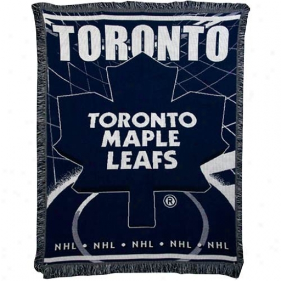 Toronto Maple Leafs Jacquard Woven Blanket Throw