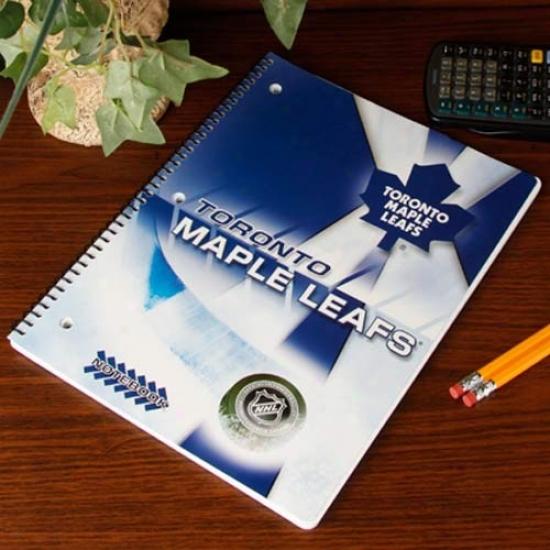Toronto Maple Leafs Notebook