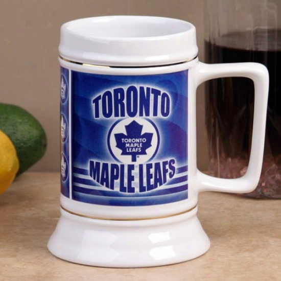 Toronto Maple Leafs Slapshot 28oz. Ceramic Stein