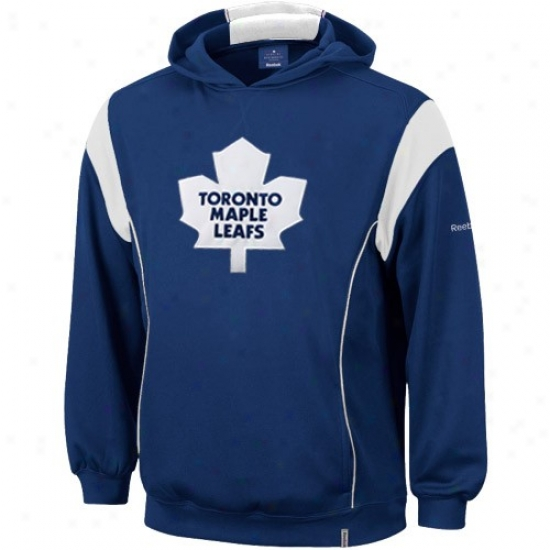 Toronto Maple Leafs Sweat Shirts : Reebok Toronto Maple Leafs Royal Blue Showboat Sweat Shirts