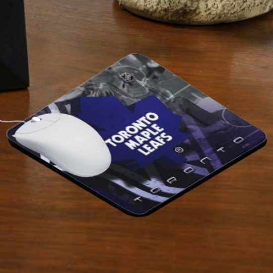 Toronto Maple Leafs Team Logo Nsoprene Mousepad