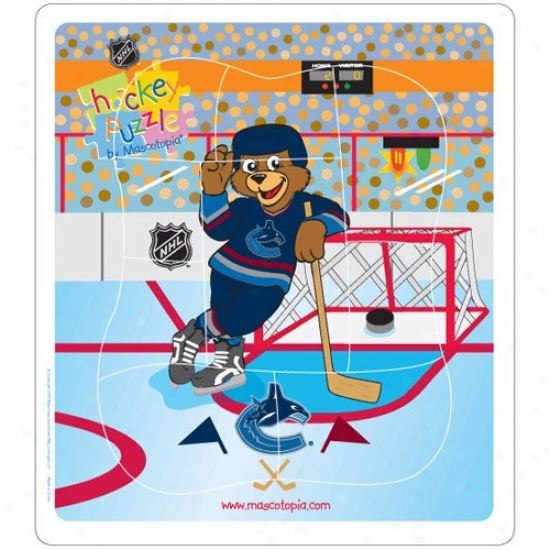 Vancouver Canucks Hockey Puzzle