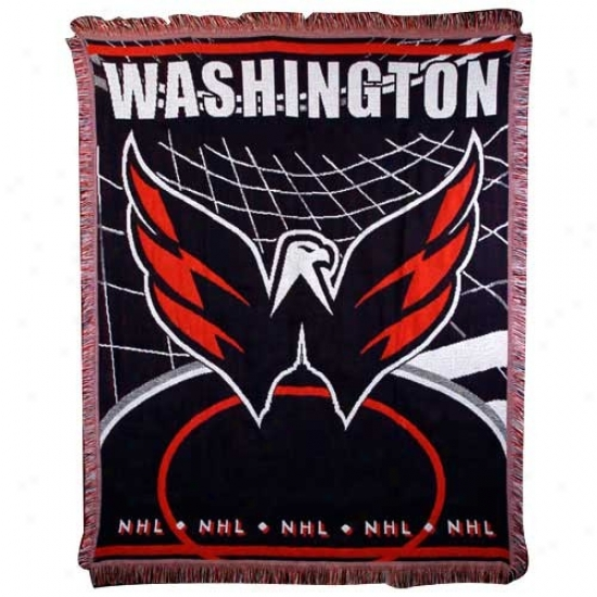 Washington Capitals Jacquard Woven Blanket Throw
