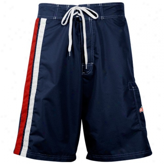 Washington Capitals Navy Blue Team Logo Board Shorts