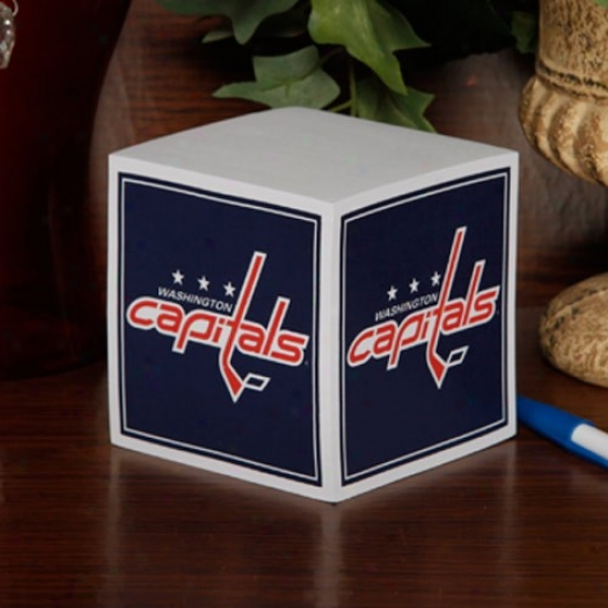 Washington Capitals Note Cube