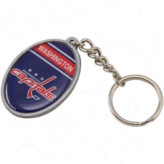 Washington Capitals Oval Keychain