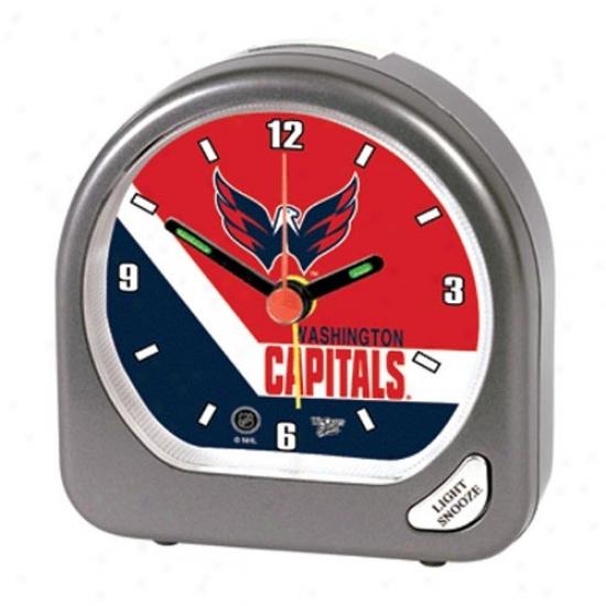 Wasyington Capitals Plastic Alarm Clock