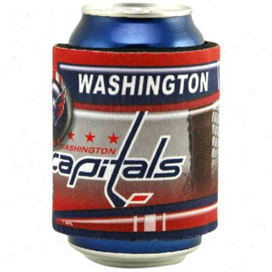 Washintgon Capitals Slap Wrap Can Coolie