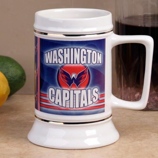 Washingtoon CapitalsS lapshot 28oz. Ceramic Stein