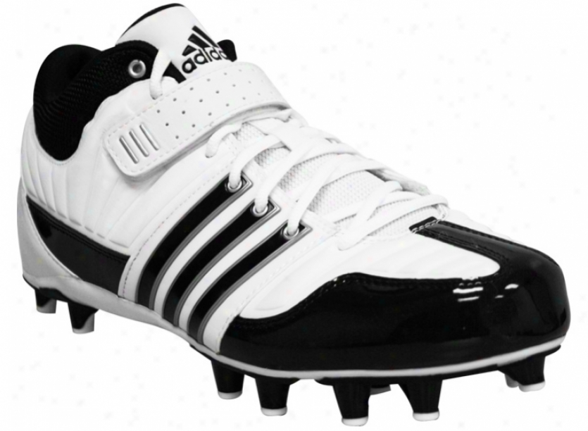 Adidas Brute Force Ii Mid Fly Black Lacrosse Cleats