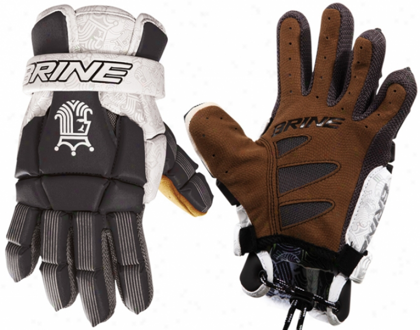 """brine King Iii 10"""" Lacrosse Gloves"""