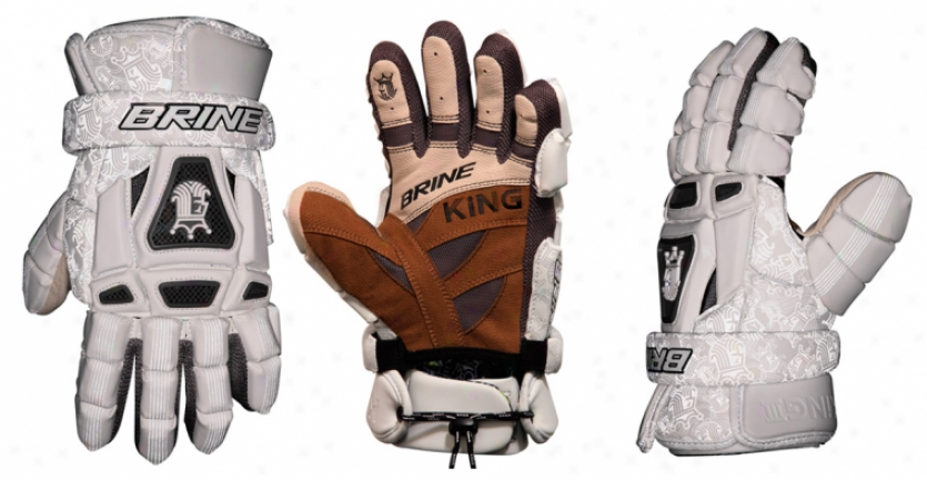 Brine King Iii Lacrosse Gloves