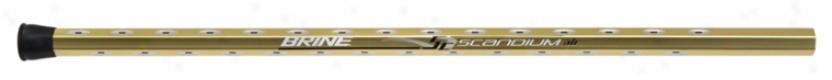 Brine Scandiu mAir Sc21 Gold Attack Lacrosse Arrow