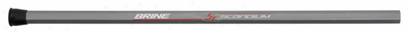 Brine Scandium Attack Lacrosse Shaft