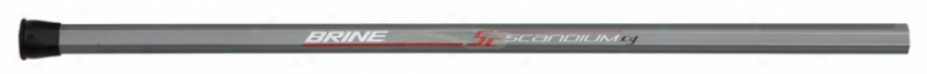 Brine Scandium Comfprt Grip Attack Lacrosse Shaft