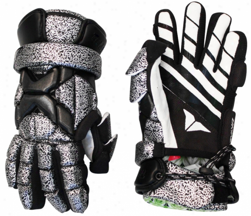 Brine Thriller Goalie Lacrosse Gloves