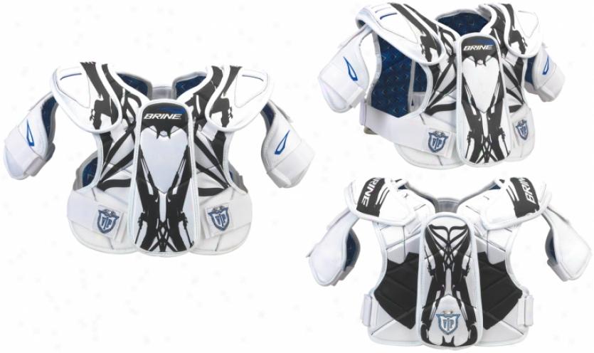 Brine Vip Lacrosse ShoulderP ad