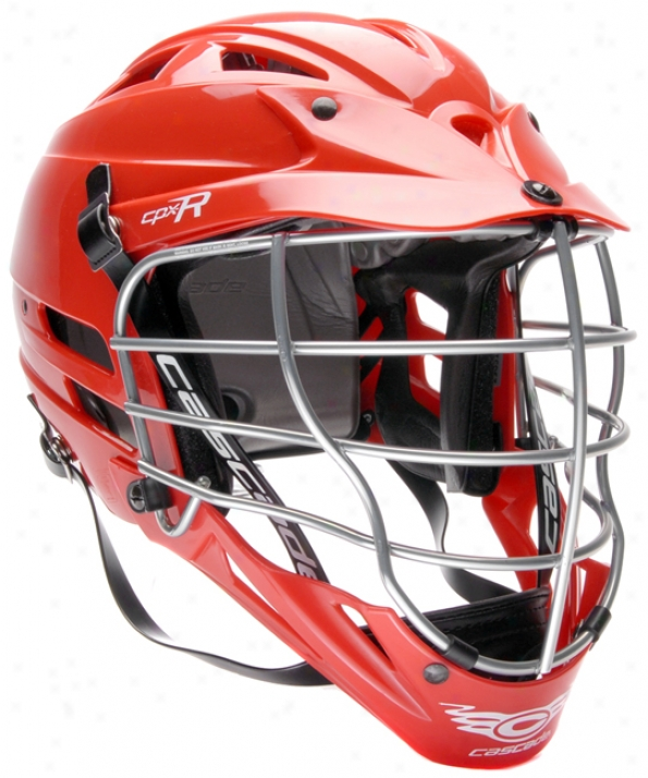 Cascade Cpx-r Titanium Custom Lacrosse Helmet