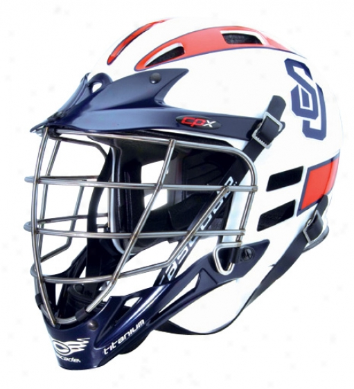 Cascade Cpx Ti Factory Custom Lacrosse Helmet