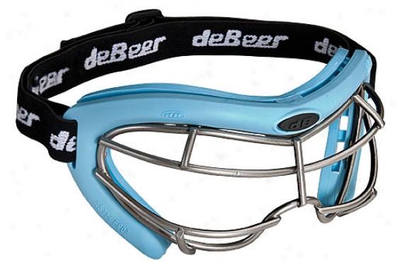Debeer Vista Silicone Women's Lacrosse Goggles
