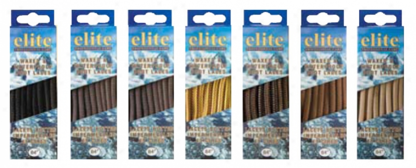 Elite Wax & Waterproof Laces