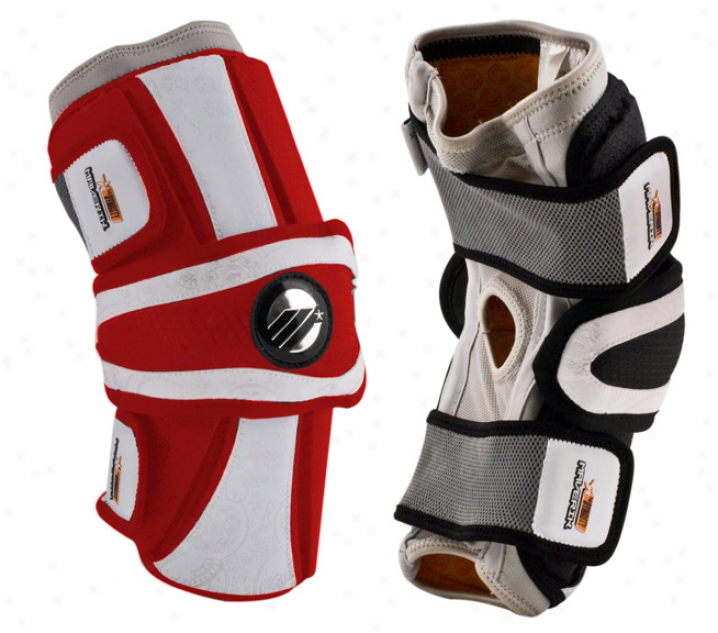 Maverik Race of rulers Supreme Attack Lacrosse Arm Pads