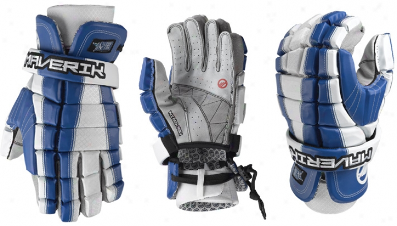 Maverik Fox Lacrosse Gloves