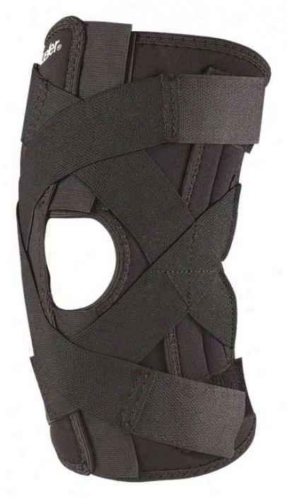 Mueller Large Adjustable Wraparound Knee Brace