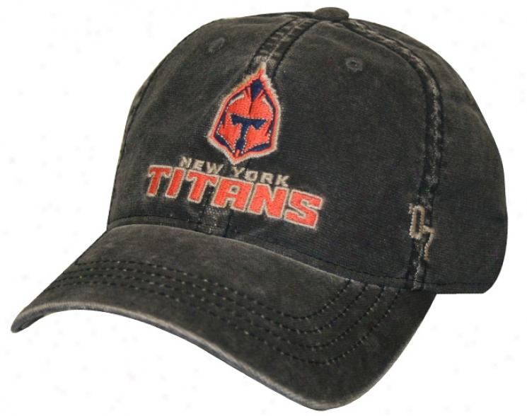 Reebok New York Titans N.l.l Slouch Overdry Flex Lacrosse Hat