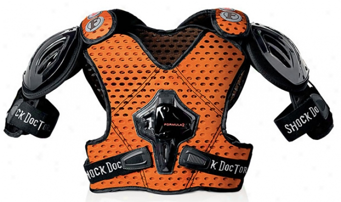 Shock Doctor Formula 2 Lacrosse Shoulder Pads