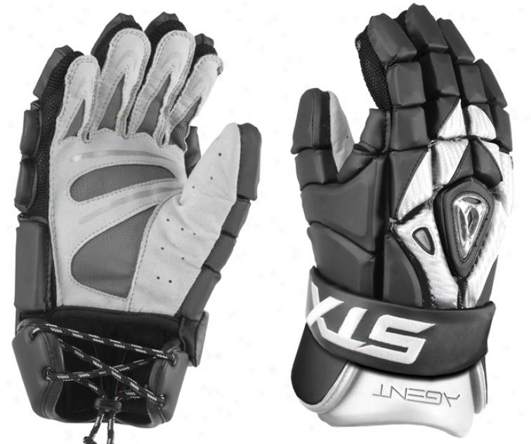 Stx Agent Lacrosse Gloves