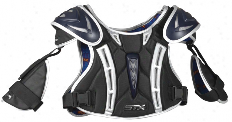 Stx Chopper Lacrosse Shoulder Padw