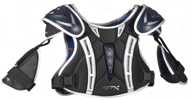 Stx Chopper Lacrosse Shoulder Padw