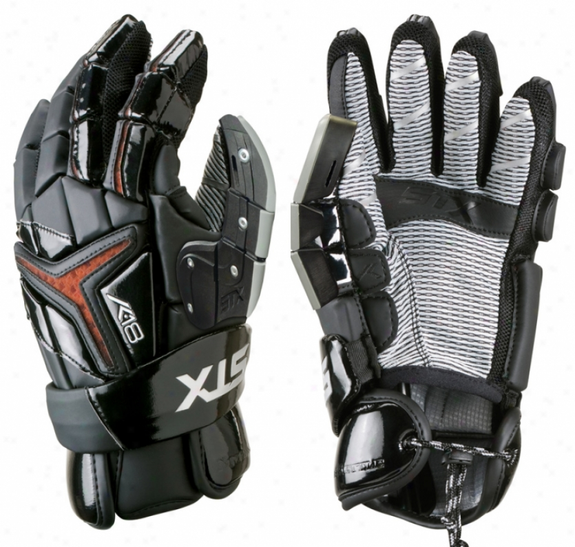 Stx K18 Goalie Lacrosse Gloves