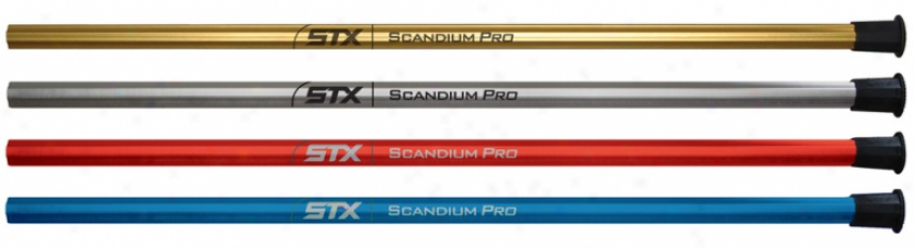 Stx Scandium Pro Attack Lacrosse Shaft