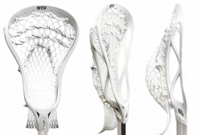 Stx Viper 2 Strung Lacrosse Head