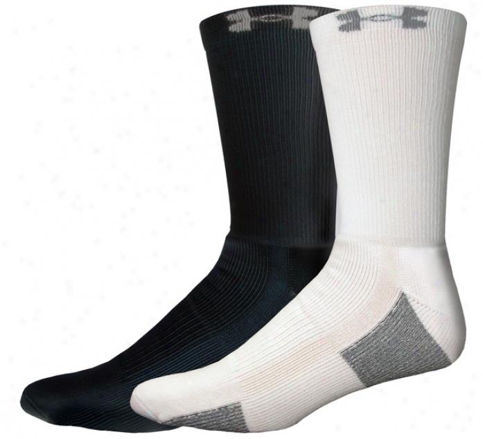 Under Armour Whole Seasongear Crew Socks - 4 Pair
