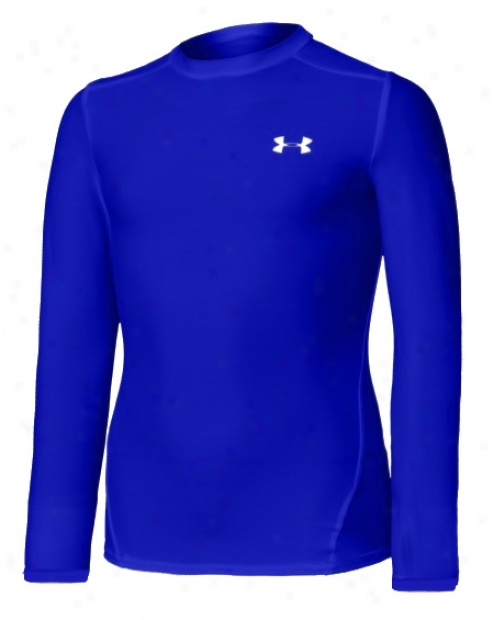 Under Armour Boy's Heatgear Long Sleeve Shirt Ii