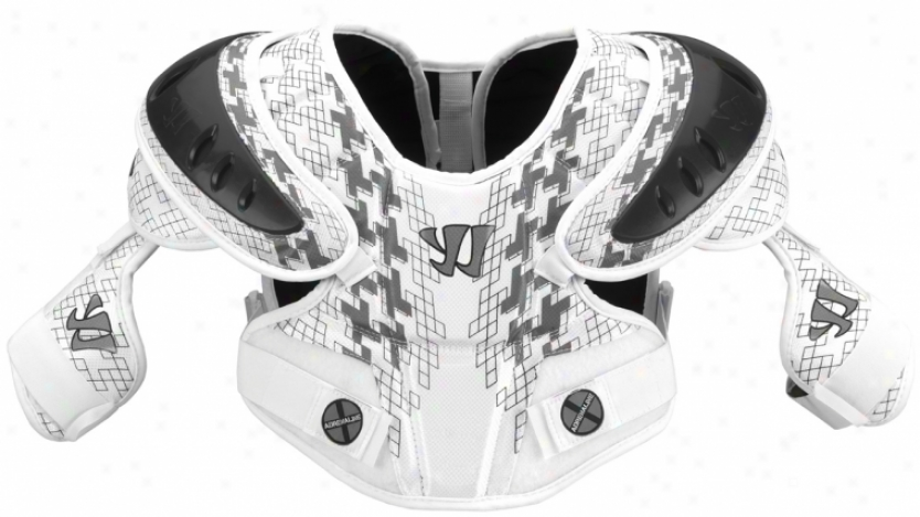 Warrior Adrenaline X Hitman Lacrosse Shoulder Pad