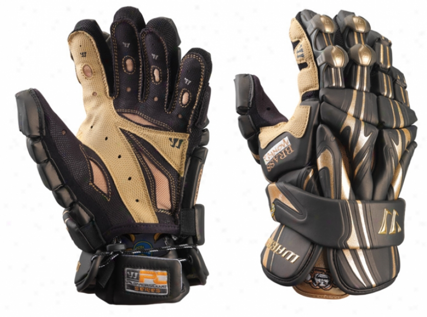 Warrior Brass Monkey Lacrosse Gloves