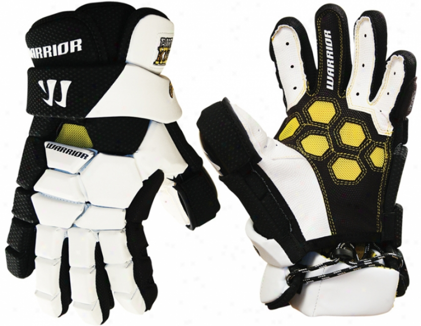 Warrior Buzzkill Goalie Lacrosse Gloves