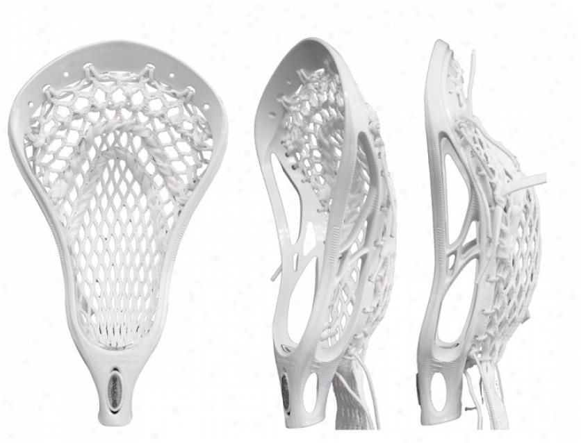 Warrior Evo Spyne Strung Lacrosse Head