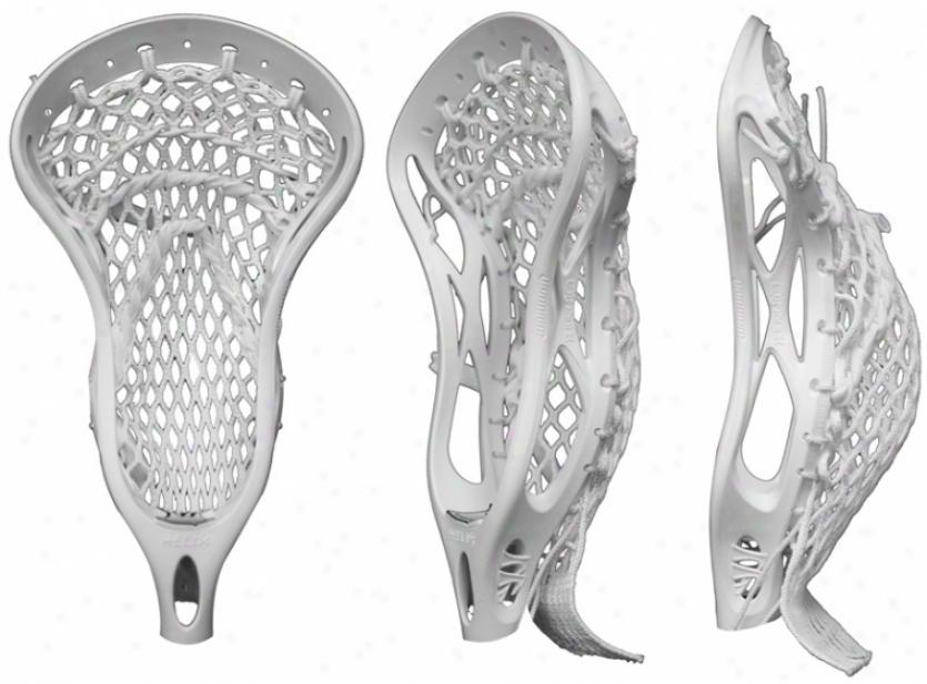 aWrrior Helix Strunng Lacrosse Head