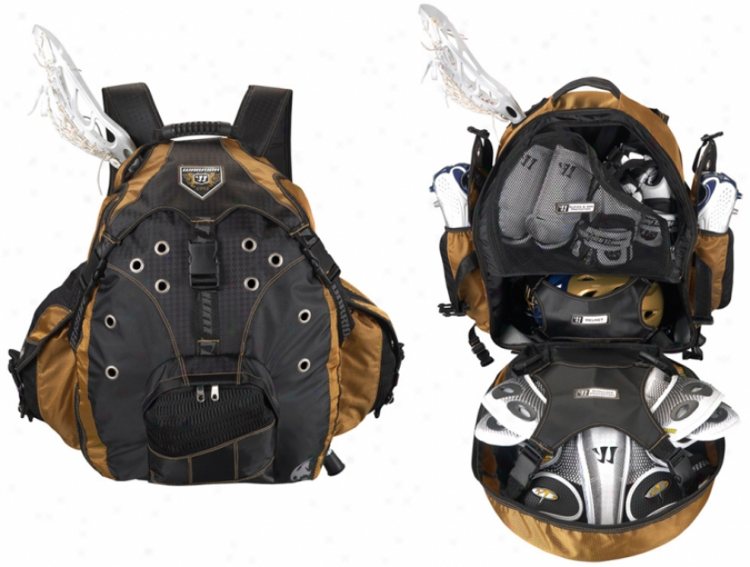 Warrior Jet Pack Max X Lacrosse Back Pack
