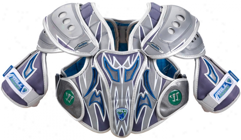 Warrior Mll Hitman 7.0 Lacrosse Shoulder Pad
