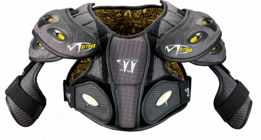 Warrior Mpg Hitman 8.0 Lacrosse Shoulder Pad